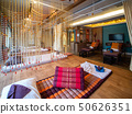Interior of vintage massage room with nature light 50626351