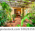 Garden in the front of luxury room. 50626356