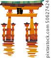 Otori at Itsukushima shrine 50627424