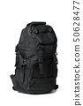 Black travel backpack 50628477