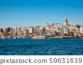 The view of the Golden Horn, Istanbul, Turkey 50631639