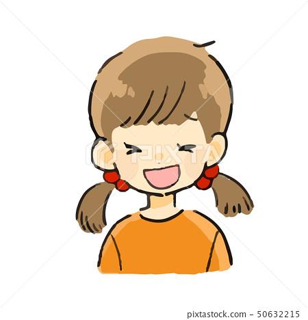 표정 소녀 미소 50632215