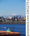 前江戶川和富士山 50632791
