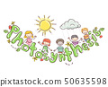 Doodle Kids Photosynthesis Tomato Illustration 50635598