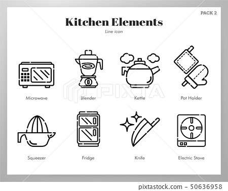Kitchen elements Line pack 50636958