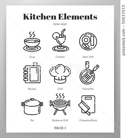 Kitchen elements Line pack 50637015