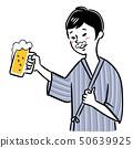 男人喝啤酒 50639925
