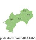 Shikoku area map 50644465