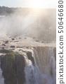 worldwide known Iguassu falls 50646680