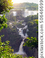 worldwide known Iguassu falls 50646699