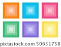 各种图标方形瓷砖渐变 50651758