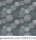 seamless pattern with doodle, raindrop, abstract 50655230