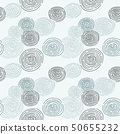 seamless pattern with doodle, raindrop, abstract 50655232