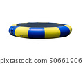 Inflatable bounce air jumping bag a blue yellow 50661906