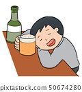 vector of drunker 50674280
