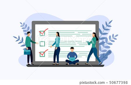 Online survey report, checklist, questionnaire 50677398