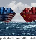 United States China Trade 50680448