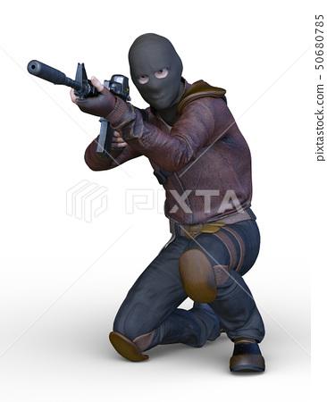 Masked man 50680785