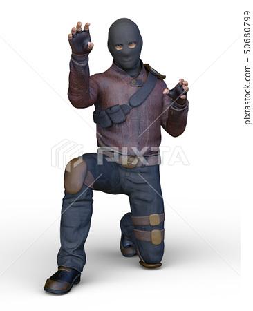 Masked man 50680799