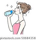 女性飲水2 50684358
