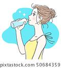 女性飲水3 50684359