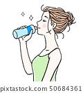 女性飲水5 50684361