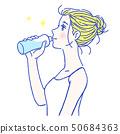女性飲水7 50684363