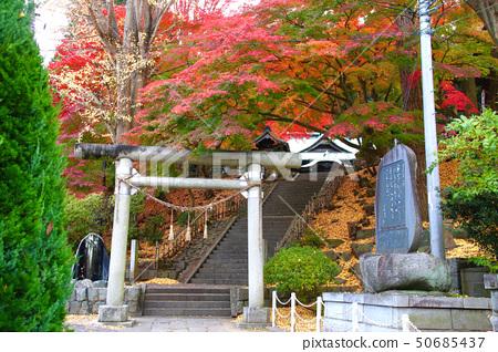 Hot spring shrine (Fukushima Prefecture, Iwaki City Yumoto) 50685437