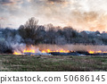 Fires sunset landscape 50686145