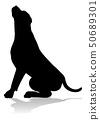 Dog Silhouette Pet Animal 50689301