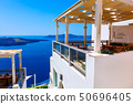Houses of Santorini Island in Greece 50696405