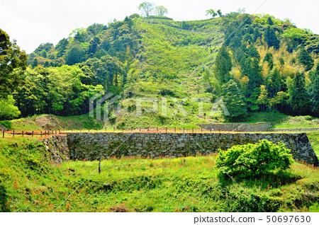 Tsukiyama Tomita Castle ruins seven way Road to Sanomaru 50697630