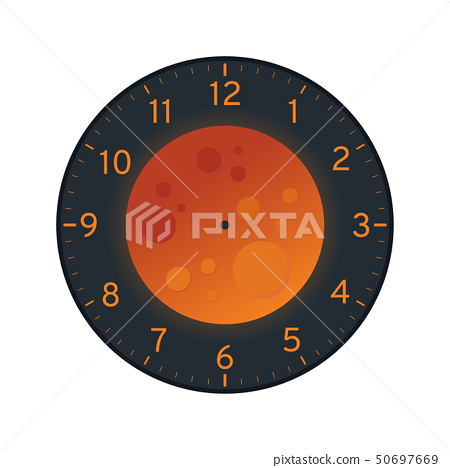 It's just a picture of Canny Printable Clock Template