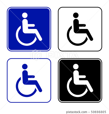 disabled handicap icon 50698805