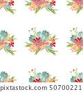 Floral flower cosmos crocus background vector illustration  50700221