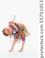 Little girl playing 50701053