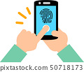 智能手機指紋認證 50718173