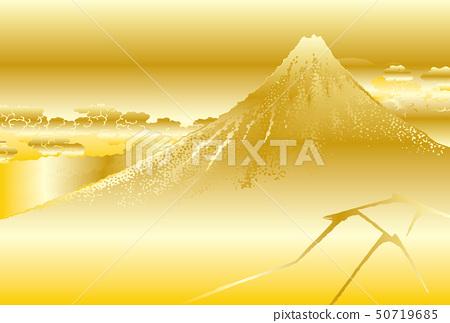 Katsushika Hokusai形象山下白雨金 50719685