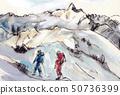 通往Mt. Oonake的路[Jonen山脈最高峰] 50736399