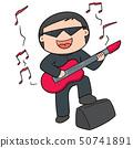vector of musician 50741891