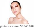 Beauty asian woman health cosmetic makeup portrait 50743308