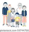 3 세대 가족 4 세트 핑크 50744700