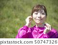Woman sportswear wireless earphone bluetooth 50747326