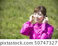 Woman sportswear wireless earphone bluetooth 50747327