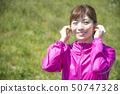 Woman sportswear wireless earphone bluetooth 50747328