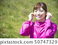 Woman sportswear wireless earphone bluetooth 50747329