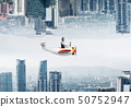 경영인, 사업가, 비행기 50752947