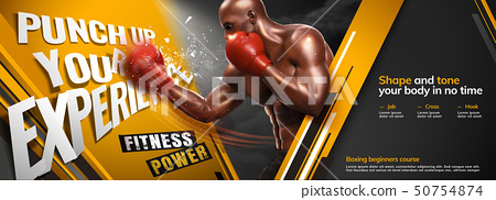 Professional boxing gym class 50754874