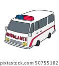 vector of ambulance 50755182