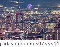 «大阪府»高層公寓內襯·城市夜景 50755544
